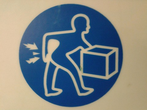 Warning! Lifting incorrectly may induce explosive farts